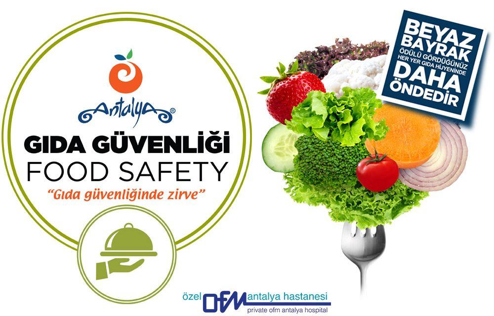 Özel Antalya OFM Hastanesi Beyaz Bayrak Sertifikası