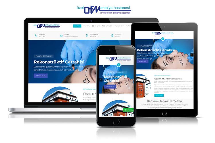 Antalya OFM Hastanesi Web Sitesi
