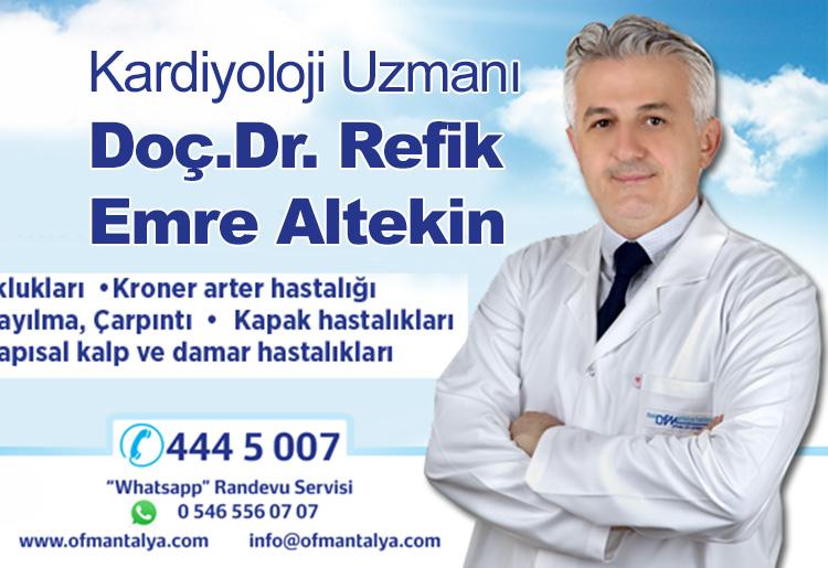 OFM Doç.Dr. Refik Emre Altekin